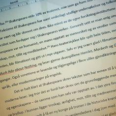 Tro om det kan bli til noe dette her!  #student @fagskolen_for_bokbransjen @bokstudentliv #studentliv #litteraturhistorie #litteratur #litteraturstudie #shakespeare #oppgaveskriving #literatur #oppgave #frustrert #skole