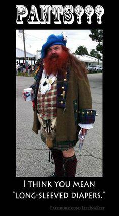#Scottish #Kilts #Humour