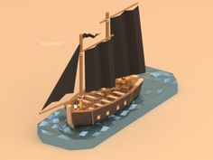 Low poly pirates! on Behance