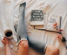 """926 Likes, 15 Comments - Jill • 66/80 • she/her (@booknerd_reads) on Instagram: """"Happy #SockSunday • Hey lovelies, what're you reading today? I started The Hazel Wood, and I'm…"""""""
