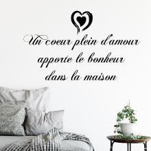 Je ne pense pas que votre belle.. romantique citation home decor wall sticker