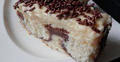 recept Originální smetanový zákusek s kokosovými kuličkami Croatian Recipes, Cheesecakes, Tiramisu, Pie, Sweets, Ethnic Recipes, Blog, Food Cakes, Torte