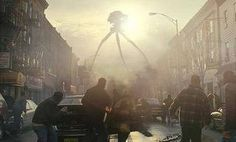 Steven Spielberg's War of the Worlds (2005) based off the novel by H.G. Wells. Staring: Tom Cruise, Dakota Fanning, Tim Robbins, and Justin Chatwin.. an interesting science fiction/adventure movie, filled with so much drama, i love it.