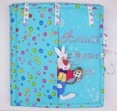 Alice in the wonderland quiet book