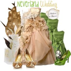 """Neverland Wedding"" by jami1990 on Polyvore"