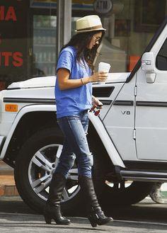 Style inspiration: Megan Fox.......love those boots!!!!!!!
