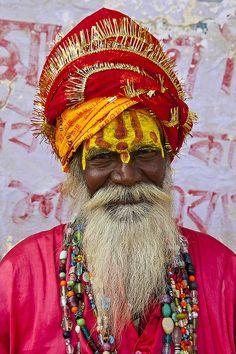 sadhu--Hindu holy man