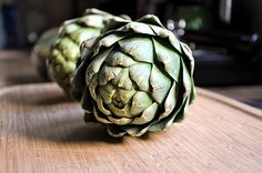Roasted Artichokes for Two « Spearmint Kitchen
