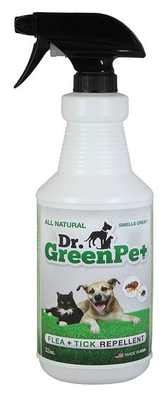 Dr Dry Green Pet All Natural Flea and Tick Spray, 32 oz >>> Details can be found by clicking on the image.