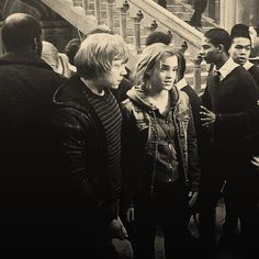 Ron and Hermione gif