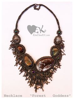 RebelSoulEK beaded statement necklace