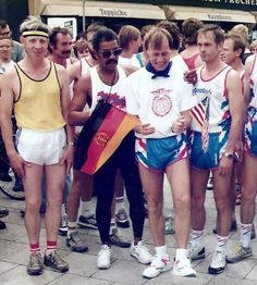 Start of Berlin-to-Moscow Freedom Run - Josh Culbreath and Stan Cottrell