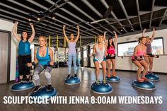 Are you SculptCycleing tomorrow?? I would if I were you  See ya tomorrow at 8:00am with @jvc_123 #SculptCycle #workoutwednesday