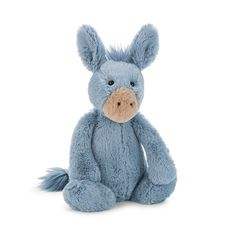 Jellycat Bashful Donkey NEW | Buy at Cow and Lizard