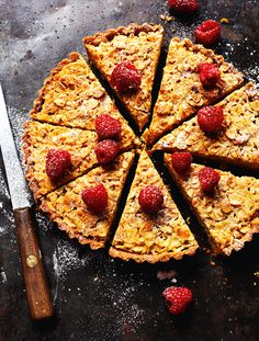 Almond Tart - The Happy Foodie