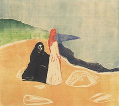 Edvard Munch - Two Women on the Shore