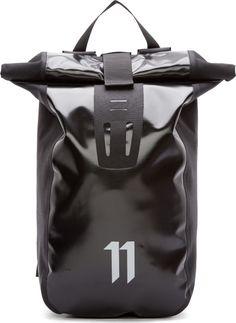 11 by Boris Bidjan Saberi Black Velocity Backpack