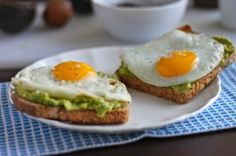 Its Time for Breakfast! Avocado Toast with Egg