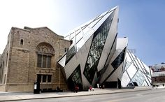 new architecture including an old building - Google Search