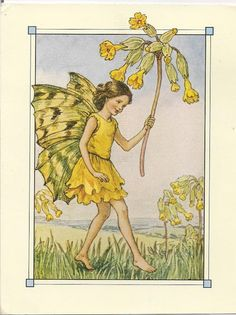 postcards2lufra: The Cowslip Fairy