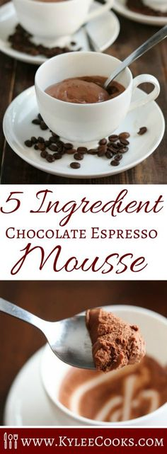 Coffee and chocolate blend perfectly in this 5 Ingredient Chocolate ...