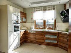 stunning kitchen windows design ideas in awesome kitchen design: white microwave oven case wnd wooden kitchen set put under small window wit...