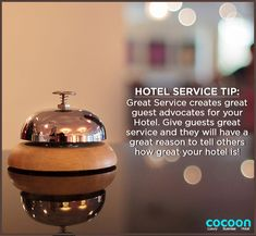 Hotel Service Tip for all the Hoteliers.  Visit us at: http://www.cocoonhotel.in  #HotelCocoon #Dhanbad #Cocoon #Customer #Service #Hospitality #Travel