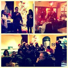 Cesar's pack had such a great time dancing, caroling & spending quality time together at the #Holiday party last night http://instagr.am/p/TG1rBXuXUG/