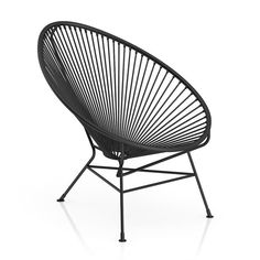 Round Black Wire Chair Model available on Turbo Squid, the world's leading provider of digital models for visualization, films, television, and games. Rattan Garden Furniture, Garden Chairs, Patio Chairs, Wire Chair, Round Chair, 3d Max, Black Models, Furniture Collection, Decoration