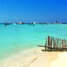 When you are in Cancun or Playa del Carmen, do a day trip to Isla Mujeres. Playa Norte is voted among the most beautiful beaches on the. Mexico Vacation, Vacation Trips, Vacation Spots, Vacations, Cool Places To Visit, Places To Travel, Places To Go, Cozumel, Mexico Tours