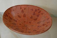Nabataean Terracotta Ware - Archaeological Museum - The Citadel - Amman, Jordan (jrozwado) Tags: archaeology museum asia citadel terracotta amman bowl jordan pottery nabataean