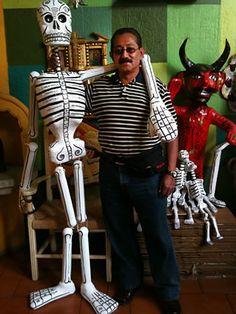 Everyone needs a 6 foot skeleton around to keep you company.
