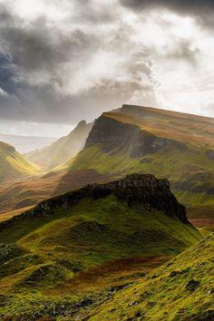 Best places to visit in Scotland :: Quiraing, Scotland
