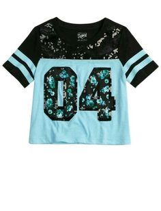 Dress Summer Teens Cute Outfits Crop Tops Ideas For 2019 Crop Tops For Kids, Girls Crop Tops, Summer Crop Tops, Casual Summer Outfits, Outfits For Teens, New Outfits, Cool Outfits, Justice Shirts, T Shirts