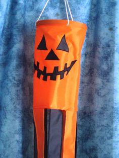 windsock. Halloween. jack-o-lantern