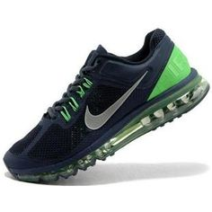http://www.asneakers4u.com/ Cheap air max 2013 nike mens shoes green blue size40 47