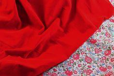 "- Velveteen, 43"" Wide, Cotton, Gorgeous ""Poppy Red"" - Farmhouse Fabrics Online Shop Red Farmhouse, Farmhouse Fabric, Fall Sewing, Poppy Red, Red Poppies, Fabric Online, Fabrics, Cotton, Shopping"