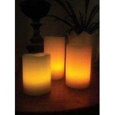 Kenroy Remote LED Candle 3 piece set