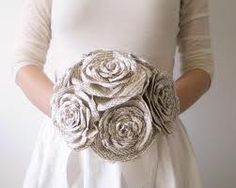 paper wedding bouquet - Google Search