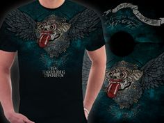 T-shirt cotton combed 24s titled Barong Stones design by zeni nugroho ready to wear.
