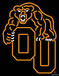 Oakland Golden Grizzlies Neon Sign NCAA Teams Neon Light