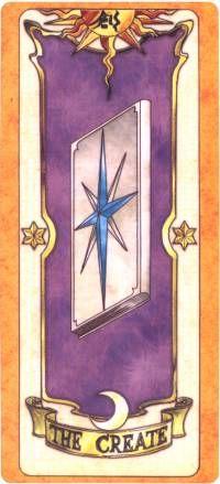 the create card  (la carta de la cracion)