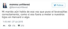 15 Divertidos tuits de esposas con los que se identificarán las personas casadas