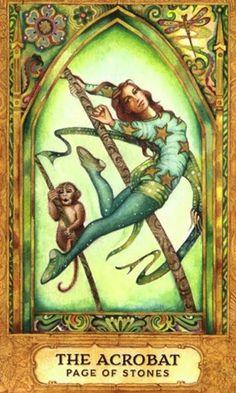 Bài viết Lá Page of Pentacles – Chrysalis Tarot bài tarot