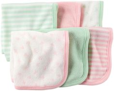 Carter's Washcloth - Pink - Free Shipping
