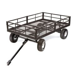 GroundWork® Extra Heavy Duty Utility Trailer, 1,500 lb. Capacity - Tractor Supply Online Store $330