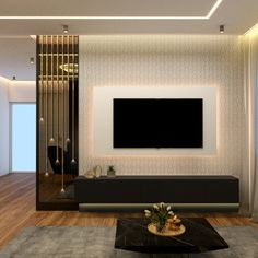 Drawing Room Interior Design, Tv Unit Interior Design, Home Room Design, Living Room Partition Design, Living Room Tv Unit Designs, Tv Wall Unit Designs, Tv Cabinet Design, Tv Wall Design, Interior Designers In Hyderabad