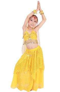 Crianças roupas de dança do ventre dança indiana set traje criança criança dança SM 5 cores para sua escolha em Dança do ventre de Novidade & Uso Especial no AliExpress.com | Alibaba Group