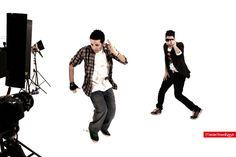 Klip çekimi- Dansçılar