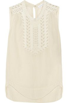 Finn Sleeveless Top // Isabel Marant